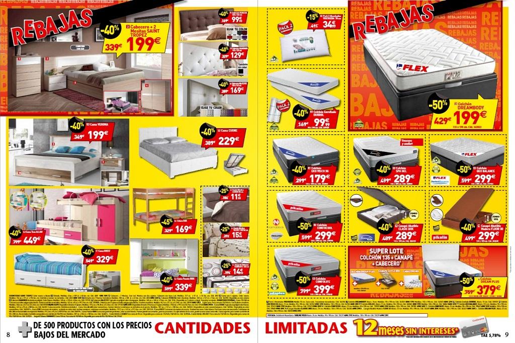 Revista muebles mobiliario de dise o - Rebajas conforama 2015 ...