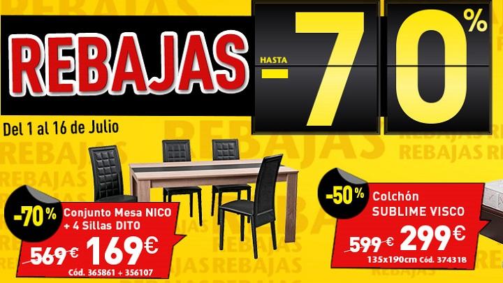 Rebajas conforama verano 2015 revista muebles - Rebajas conforama 2015 ...