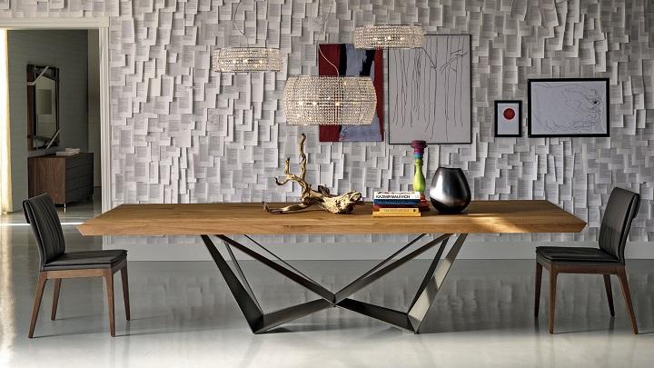 Revista muebles mobiliario de dise o - Mesas de troncos de madera ...