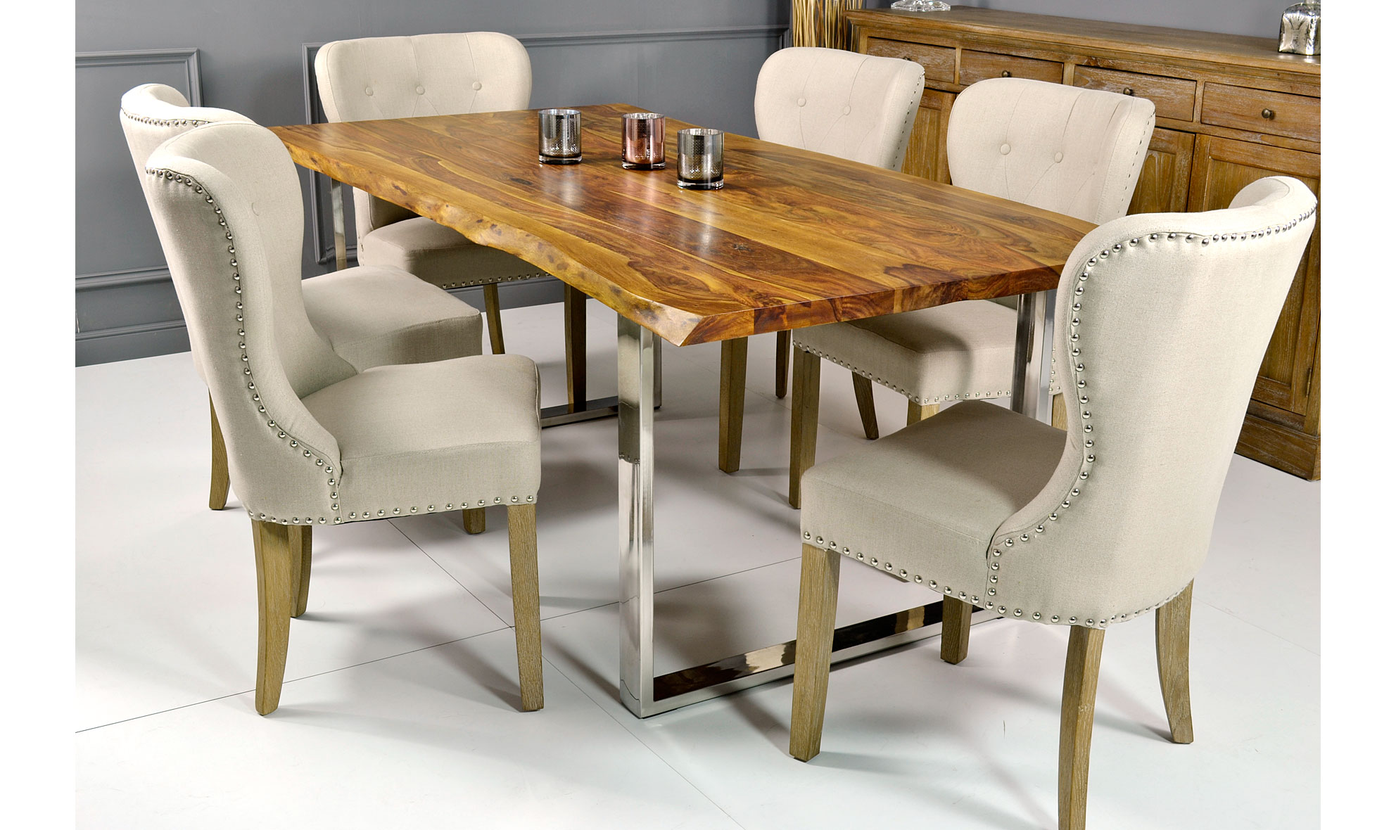 Mesas troncos17 revista muebles mobiliario de dise o for Mesas de troncos de madera