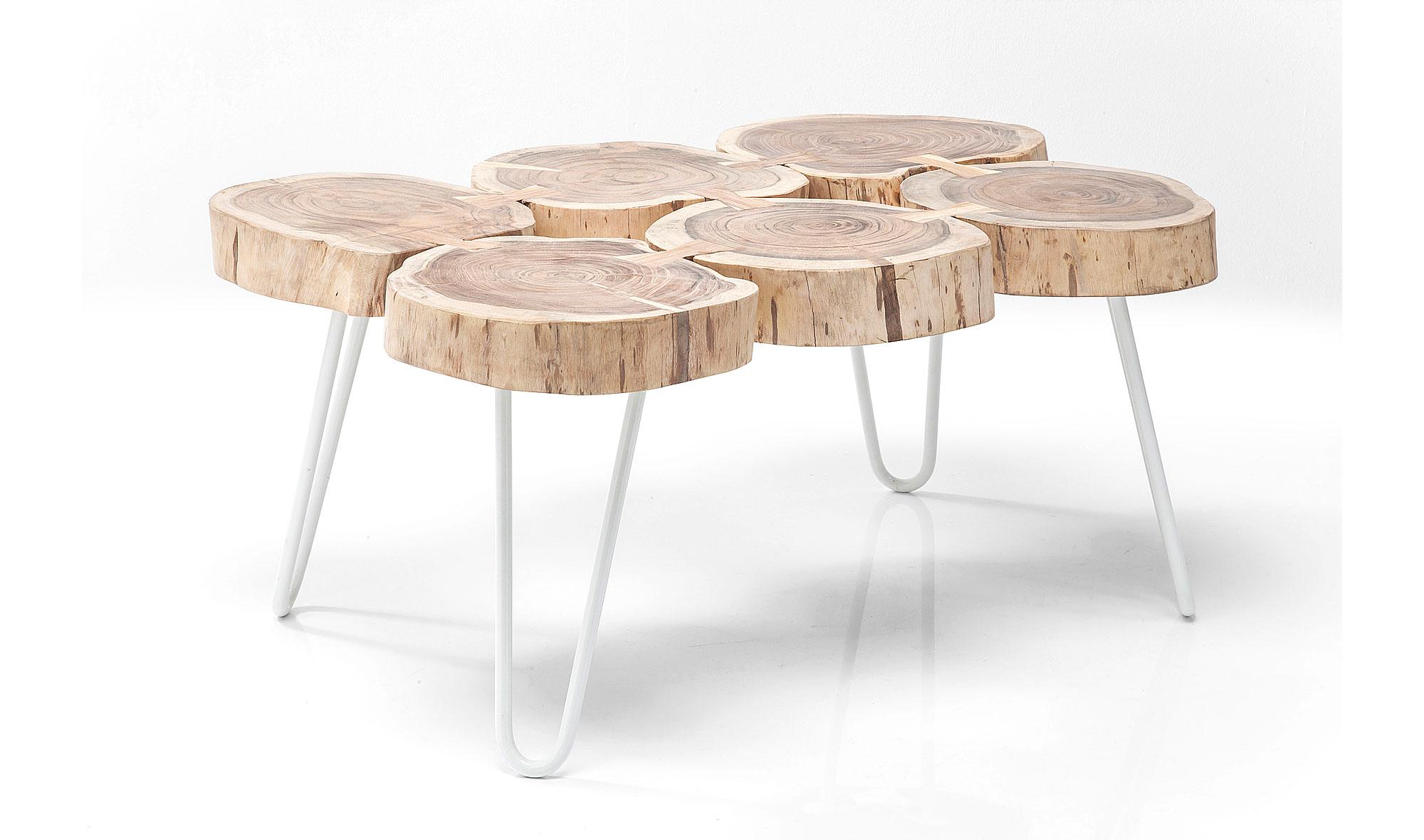 Mesas de troncos mesa centro musha cay mesa de centro - Mesas de troncos de madera ...