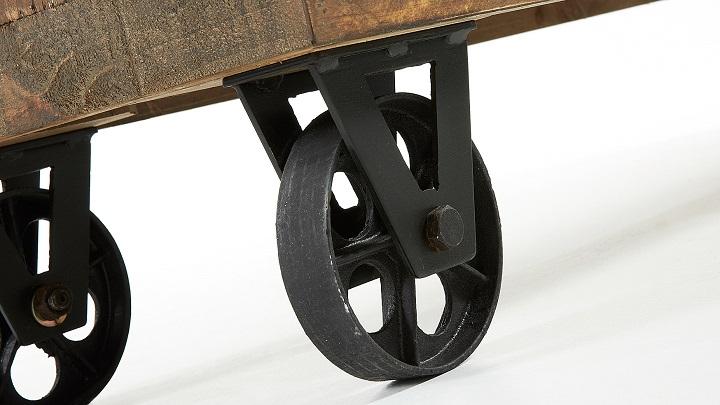 Revista muebles mobiliario de dise o for Ruedas industriales antiguas para muebles