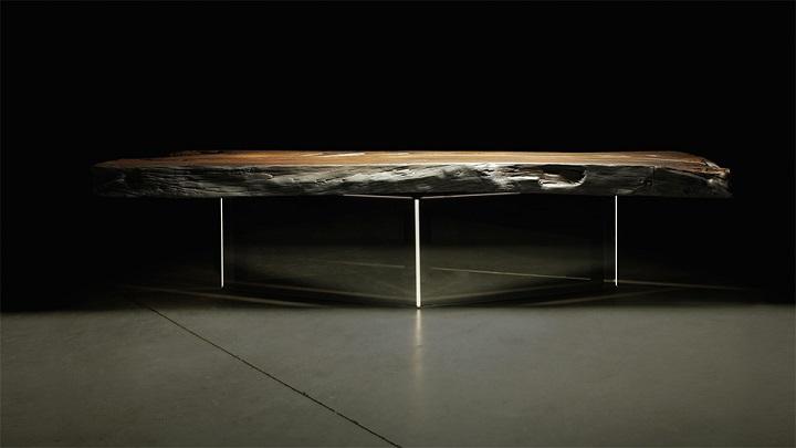 Espectacular mesa de comedor de dise o italiano revista for Mobiliario italiano