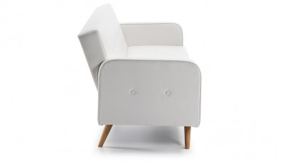 Sofa botones blanco decojondepato
