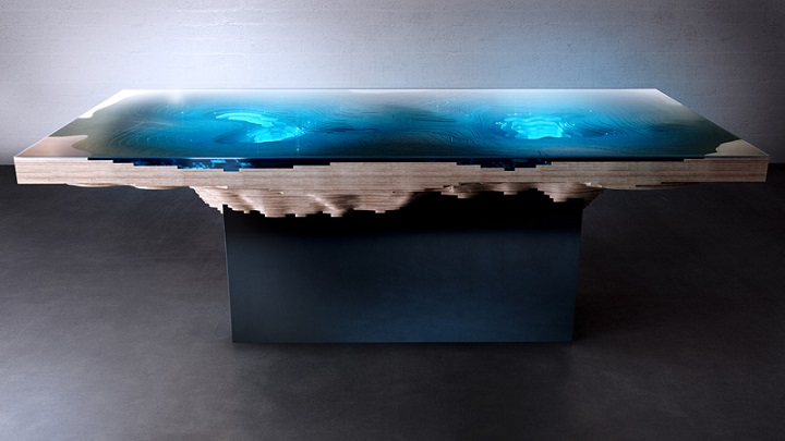 abyss dining table Duffy