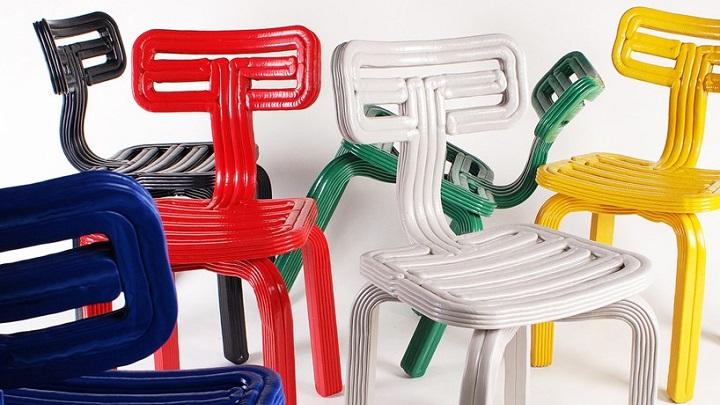 chubby chair 3D