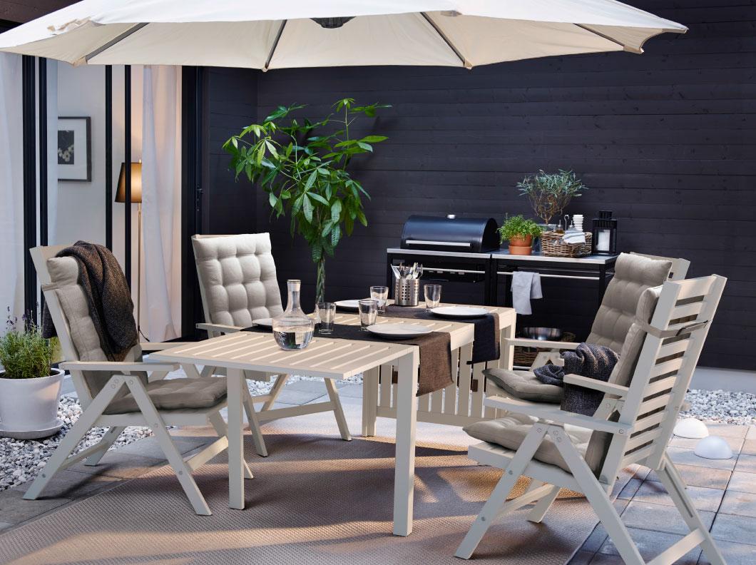 Ikea exterior 20164 revista muebles mobiliario de dise o - Ikea mesas exterior ...