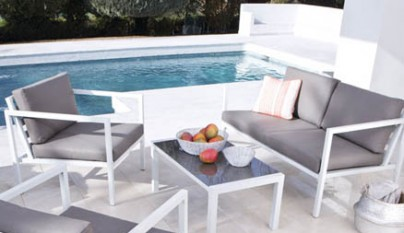 Revista muebles mobiliario de dise o for Bancos de jardin leroy merlin