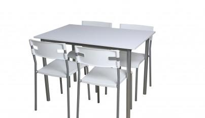 Mesas de cocina de conforama revista muebles for Mesas cocina conforama