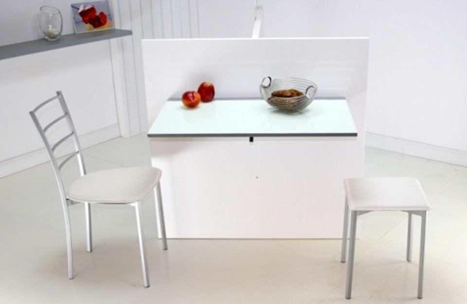 Mesa cocina conforama8 revista muebles mobiliario de - Mesa cocina diseno ...