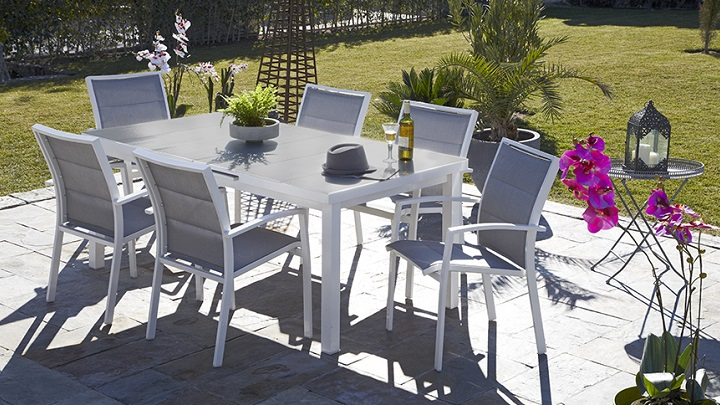 Muebles de exterior carrefour perfect muebles de jardin for Conjunto jardin barato