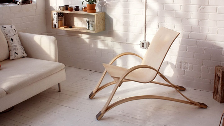 Bow Spring Chair silla