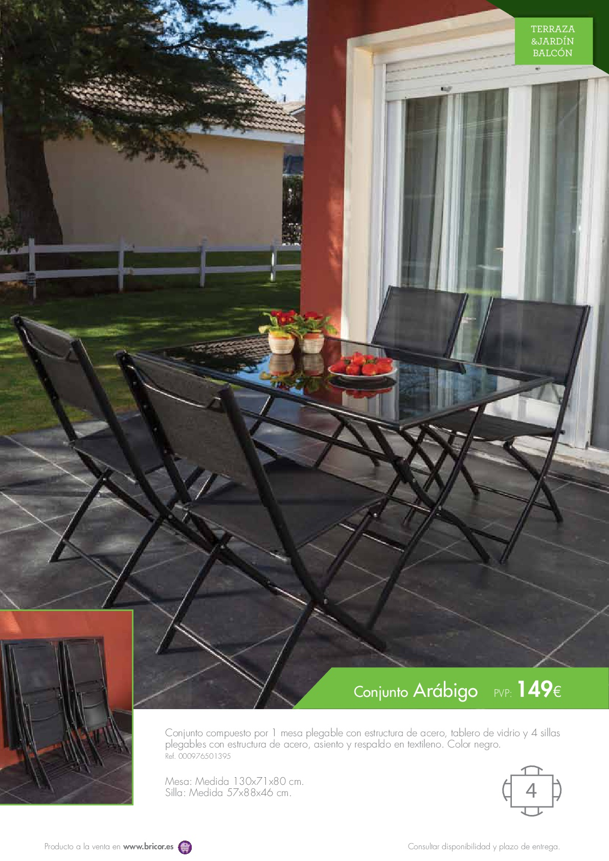 Bricor muebles jardin 201617 revista muebles for Revista jardin 2016
