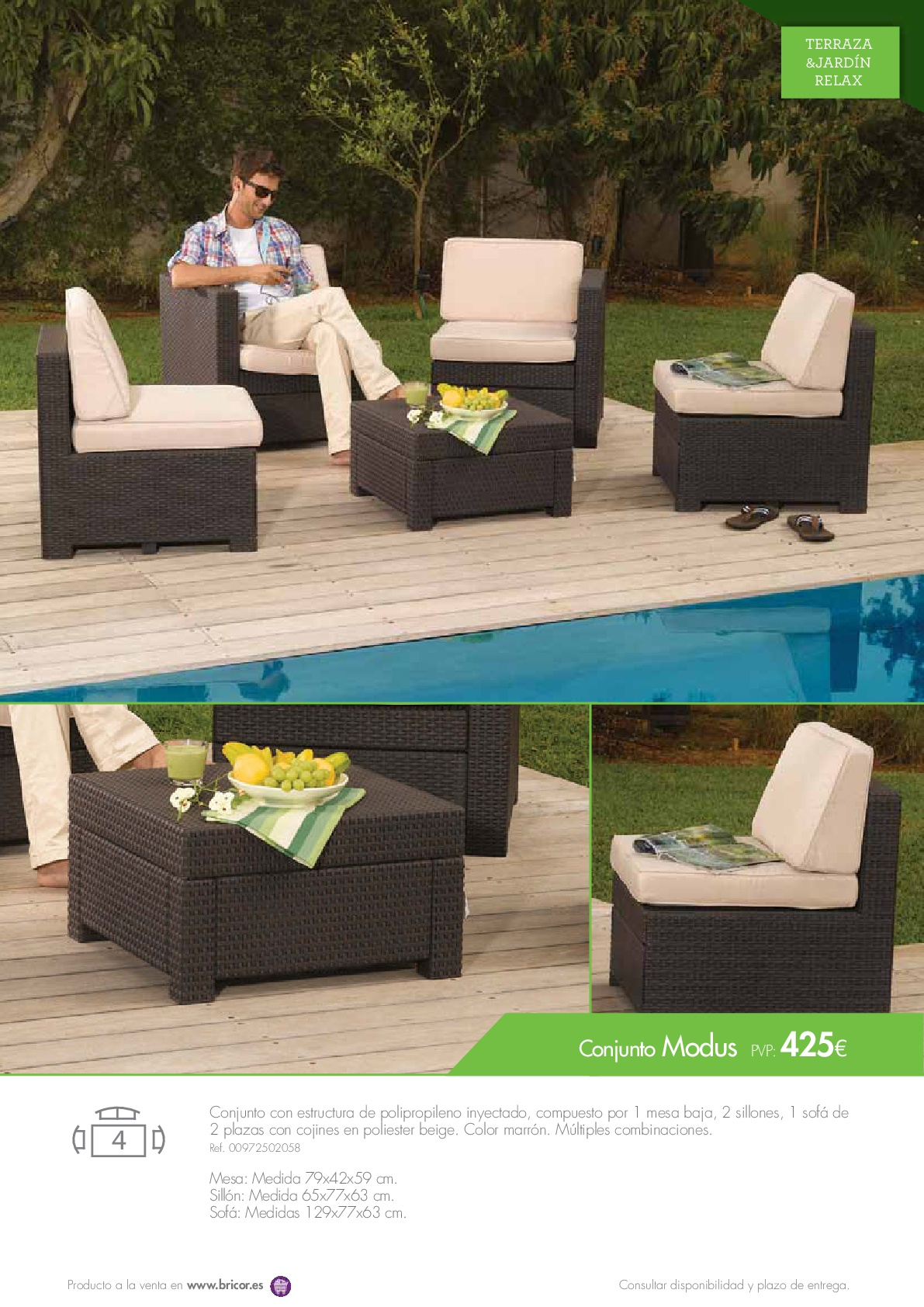 Cojines Muebles Jardin - Cojines Muebles Jardin Conjunto Ratn Sinttico Color Gris Sof [mjhdah]http://www.bricogroup.com/main/sites/default/files/galerias/mueble-jardin-10.jpg