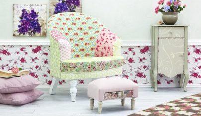 Mesa de centro con piezas de ikea revista muebles - Papel pintado autoadhesivo para muebles ...