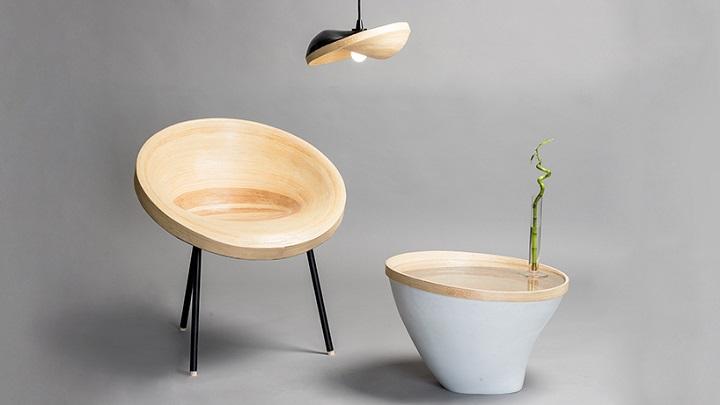 Coleccion Sagano Bamoo Furniture