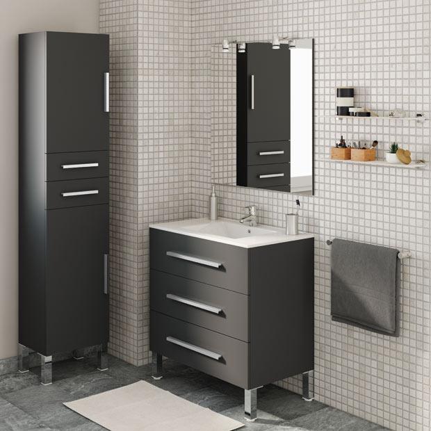 Armarios De Baño Modernos:Muebles de baño de Leroy Merlin 2016 (35/65)