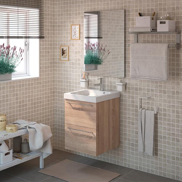 Estanterias para ba o leroy - Muebles para lavabos leroy merlin ...