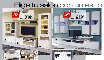 Salones conforama 2016 un blog sobre bienes inmuebles for Muebles salon conforama