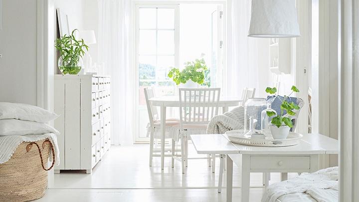Revista Muebles Mobiliario De Diseno - Decoracion-muebles-blanco