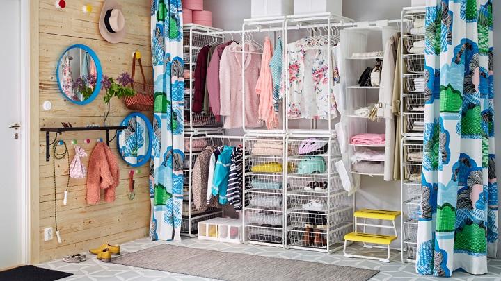recibidor IKEA foto