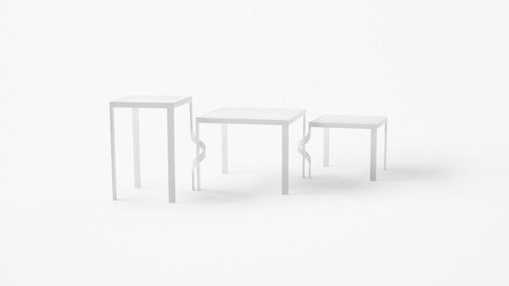 tangle table Nendo