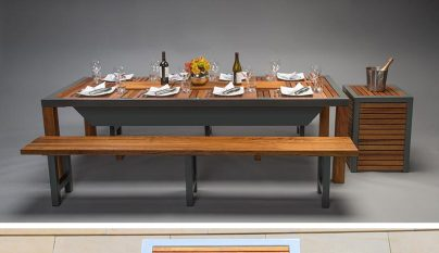 Modern Outdoor Barbecue Table4