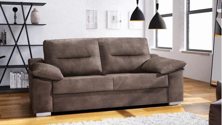 sofa cama conforama foto