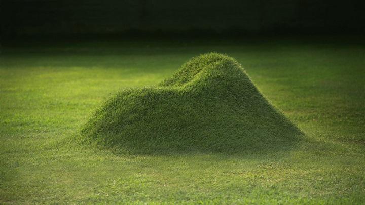 terra grass armchair foto