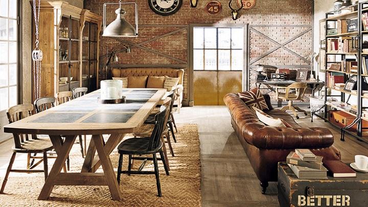 Revista muebles mobiliario de dise o for Libreria estilo industrial