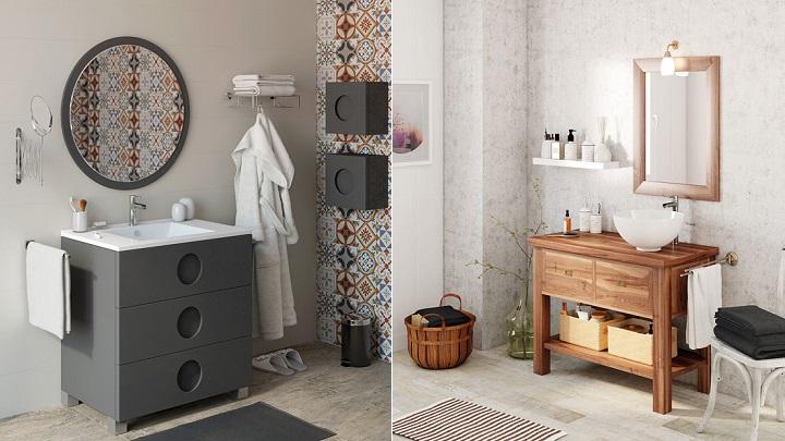 Lavabos revista muebles mobiliario de dise o - Muebles de cuarto de bano en leroy merlin ...
