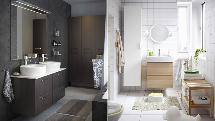 Lavabos ikea con mueble amazing lavabos sobre encimera for Mueble lavabo pedestal ikea