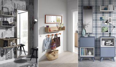 Muebles de recibidor pr cticos revista muebles - Recibidores kibuc ...