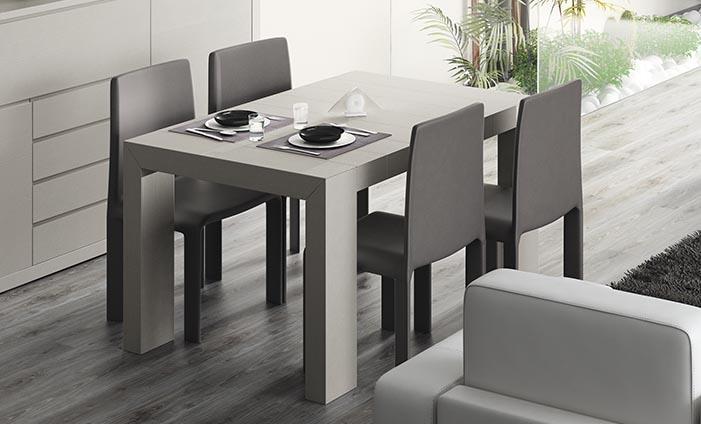 Revista muebles mobiliario de dise o for Mesas de comedor becara