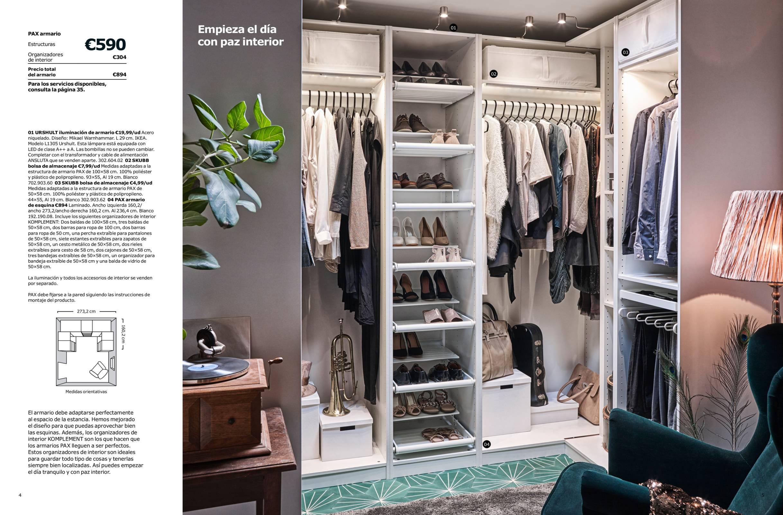 Revista muebles mobiliario de dise o for Ikea interior armarios