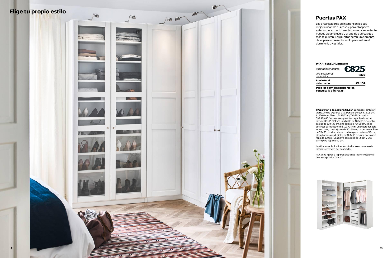 Revista muebles mobiliario de dise o for Armario oficina ikea