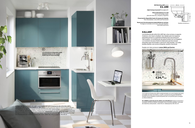 Revista muebles mobiliario de dise o for Precios de cocinas ikea
