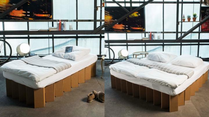 cama-carton-plegable