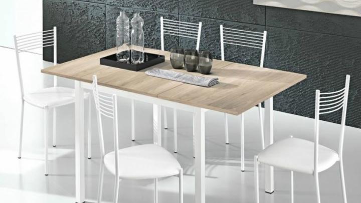 mesa-de-cocina-blanca-y-madera