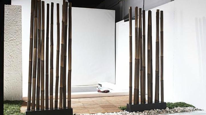 biombo-bambu