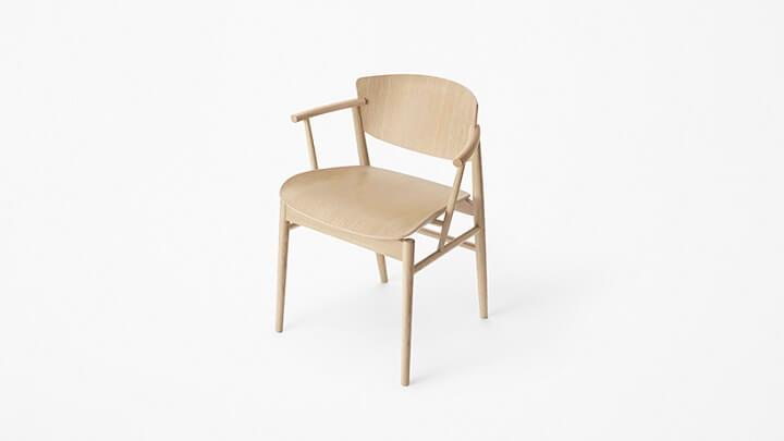 silla-de-madera-Fritz-Hansen